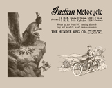 232. 1913 Indian with Chief