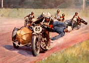 285.Sidecar racers