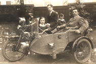 323. With CL Wicker Sidecar