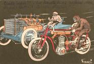 338. Motorcycle & Car