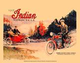 58. 1917 Indian Postcard