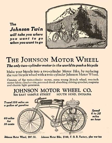 The Johnson Motor Wheel